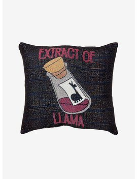 Disney The Emperor's New Groove Extract Of Llama Tapestry Pillow by Hot Topic