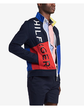 Men's Flagship Zip Front Jacket, Created For Macy's by Tommy Hilfiger