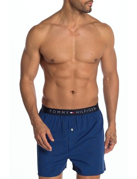 Plaid Woven Boxer by Tommy Hilfiger