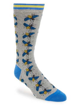 Allover Bee Socks by Ted Baker London