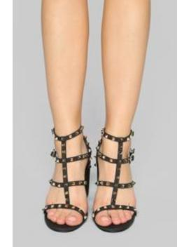 Ravishing Heeled Sandals   Black by Fashion Nova