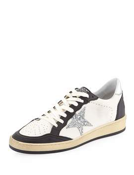 Ball Star Leather Low Top Sneakers by Golden Goose