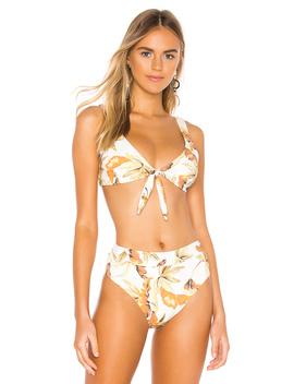 Dusk Leaf Bikini Top by Zulu & Zephyr