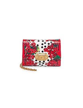 Portofino Floral Micro Crossbody Bag by Dolce & Gabbana
