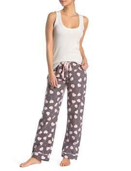 Love Is Sweet Flannel Pajama Bottoms by Pj Salvage