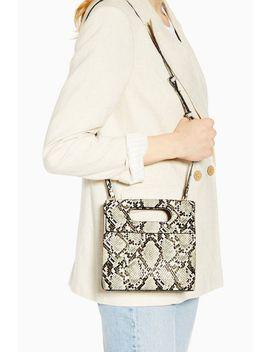 Gem Snake Flap Handle Grab Bag by Topshop