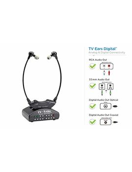 Tv Ears Digital Wireless Headset System, Connects To Both Digital And Analog T Vs, Tv Hearing Aid Device For Seniors And Hard Of Hearing, Voice Clarifying, Dr Recommended 11741 by Tv Ears Inc