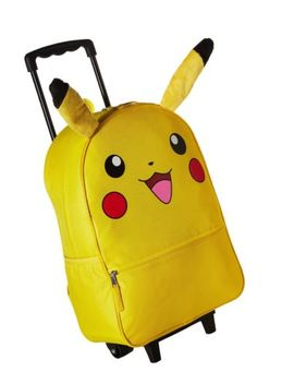Pokemon Pikachu 3 D Back To School Rolling Backpack   Anime Character Book Bag... by Pokemon