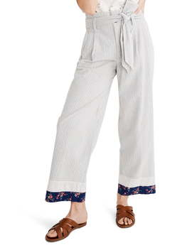 X The New Denim Project® Patchwork Paperbag Pants by Madewell