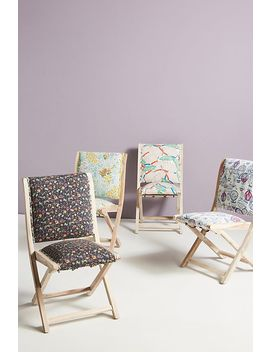 Colloquial Terai Folding Chair by 52 Conversations By Anthropologie