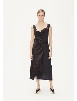 Mohair/Cupro Satin Split Dress by Junya Watanabe