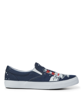 Thompson Bear Graphic Sneaker by Ralph Lauren
