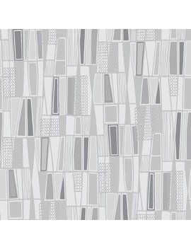 "Wall Vision 33' X 20.9"" Taavi Retro Geometric Wallpaper by Wayfair"
