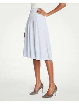 Petite Seamed Full Skirt by Ann Taylor