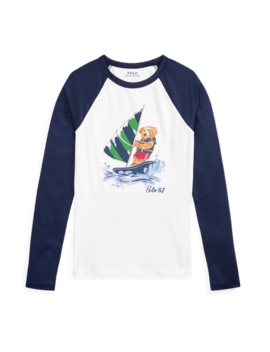 Polo Bear Rash Guard by Ralph Lauren