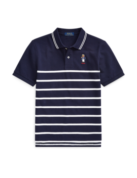 Captain Bear Cotton Mesh Polo by Ralph Lauren