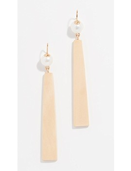 The Pearl Figure Earrings by Sophie Monet
