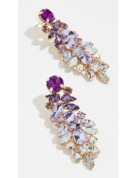 Lavendar Drop Earrings by Stella + Ruby