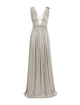Metallic Grecian Gown by Jonathan Simkhai
