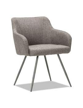 Alera Captain Series Gray Tweed Guest Chair by Alera