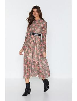 Grow On Then Floral Midi Dress by Nasty Gal