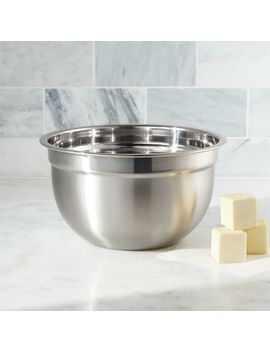 Stainless Steel 3 Quart Bowl by Crate&Barrel