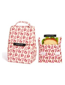Keep Leaf Lunch Bag And Reusable Sandwich Bag   New Fruit by New Fruit