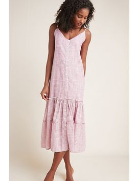Sundry Ruffled Midi Dress by Sundry