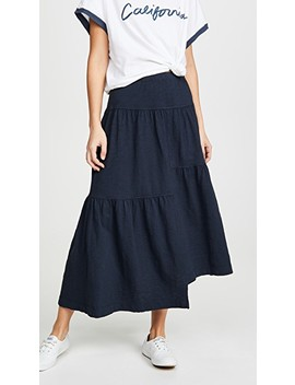 Long Tiered Skirt by Wilt