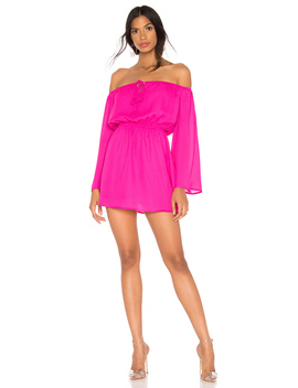 Jazzie Off Shoulder Dress by Superdown