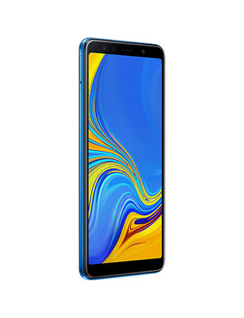 Galaxy A7 (2018) Sm A750 Dual Sim 64 Gb Smartphone (Unlocked, Blue) by Samsung