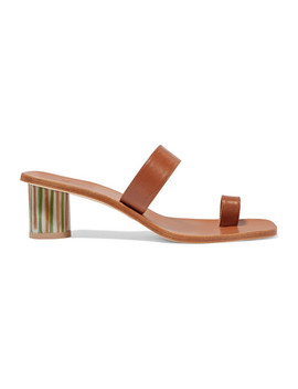Tere Leather Sandals by Loq