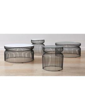 Spoke Tables by Crate&Barrel