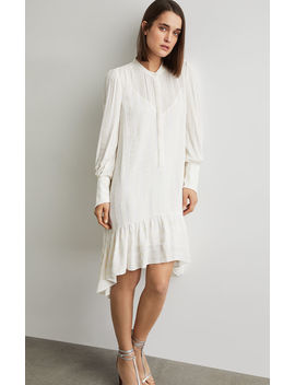 Asymmetrical Button Up Dress by Bcbgmaxazria