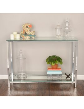 Silver Orchid Heston Console Table by Silver Orchid