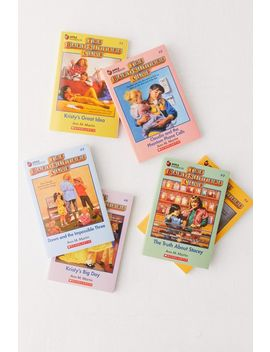 The Baby Sitters Club Retro Set By Ann M. Martin by Urban Outfitters