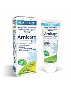 Boiron Arnicare Gel, 2.6 Ounce, Topical Gel For Muscle Pain, Swelling, Stiffness And Discoloration From Bruising. Natural Active Ingredient by Boiron