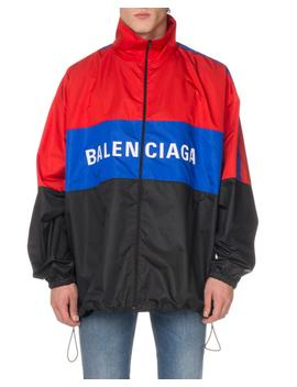 Men's Colorblock Track Jacket by Balenciaga