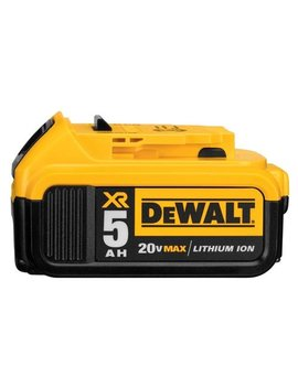 Dewalt Dcb205 20 V Max Xr 5.0 Ah Lithium Ion Battery Pack by Dewalt