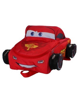 """Disney 12"""" Cars Kids' Backpack   Red by Red"""