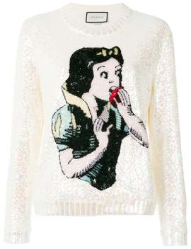 Snow White Knit Sweater by Gucci