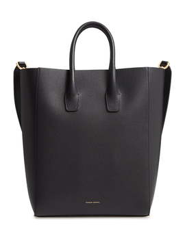 North/South Leather Tote by Mansur Gavriel