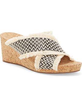 Khillian Woven Wedge Slide Sandal by Lucky Brand