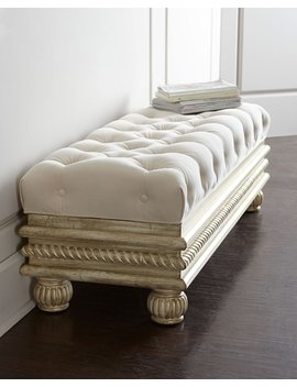 "Zalkin 56"" Storage Bench by Massoud"