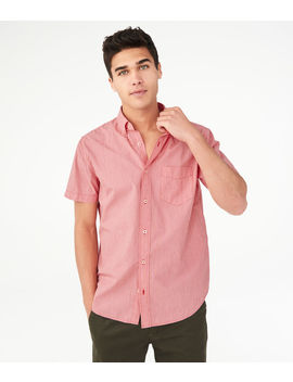 End On End Button Down Shirt by Aeropostale