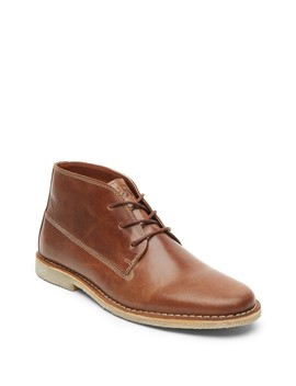 Topstitched Leather Chukka Boot by Kenneth Cole Reaction