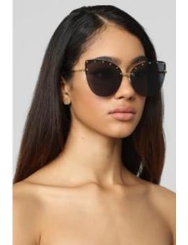 Unthinkable Sunglasses   Gold/Smoke by Fashion Nova