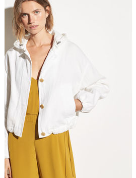 Hooded Cotton Jacket by Vince