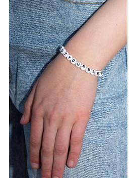Not Your Baby Bracelet by Brandy Melville
