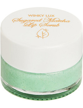 Online Only Sugared Matcha Lip Scrub by Winky Lux